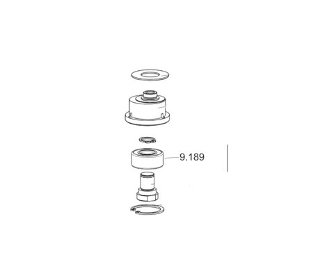 Bearing Double Crown 3001 9.189