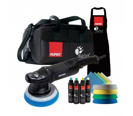 LHR21ES BigFoot Random Orbital Polisher DLX Kit