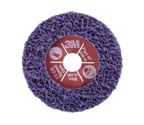 3M Scotch-Brite XT-DB Clean & Strip Purple Disc 05816