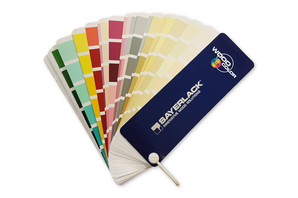 Wood Color Plus Fan Deck