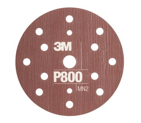 Hookit Flexible Abrasive P800 150 mm