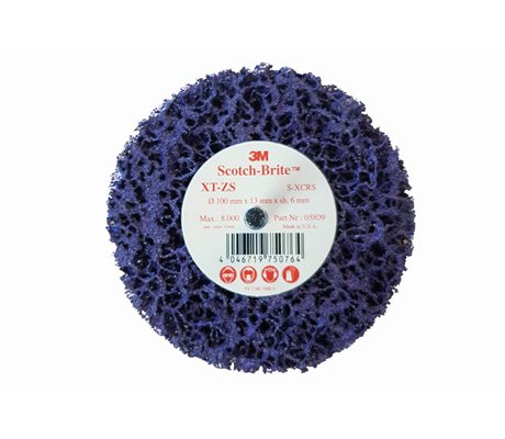 3M Scotch-Brite XT-ZS Clean & Strip Purple Discs 05809