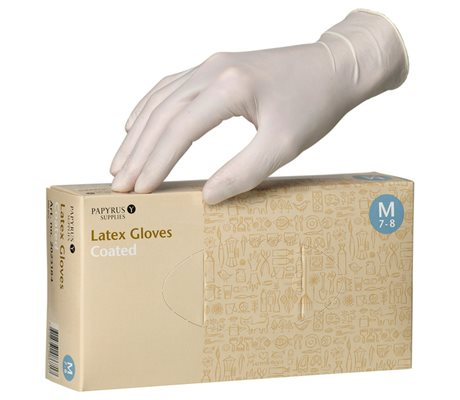 Latex Gloves Coated Latex Gloves Coated XL 9-10
