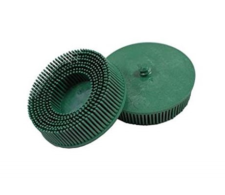 3M 07526 Roloc Bristle Disc RD-ZB Green