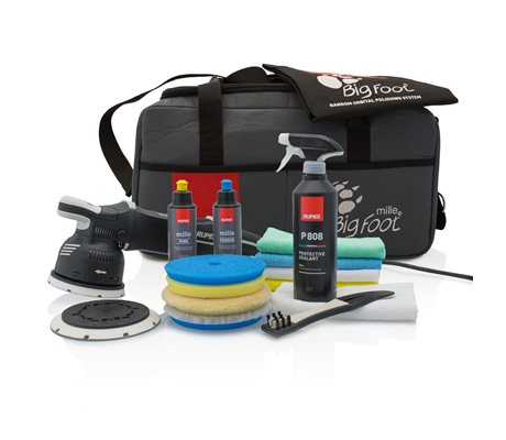 LK900E BigFoot Mille Gear Driven Polisher DLX Kit