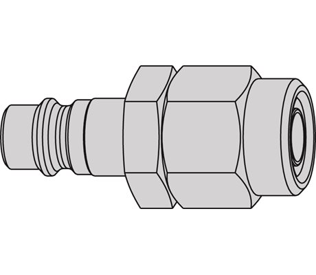 Series 320 eSafe Stream-Line Connection 6,5 x 10 mm