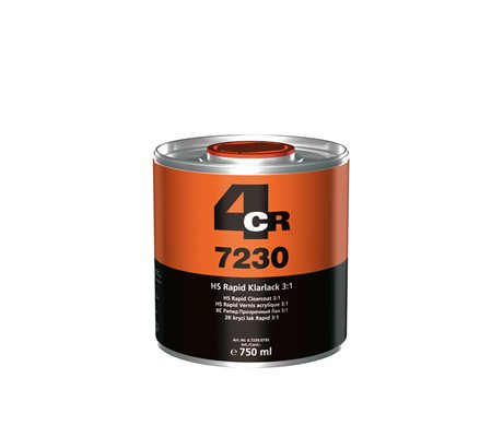 4CR HS Rapid Clearcoat 7230